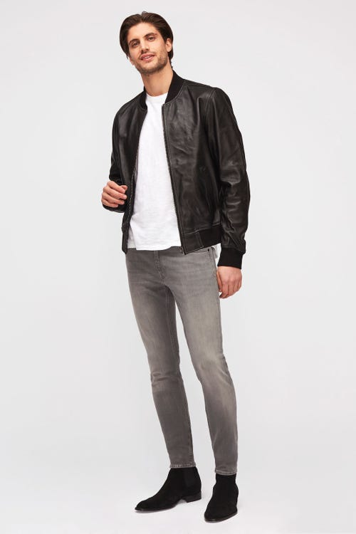 RONNIE TAPERED LUXE PERFORMANCE PLUS GREY