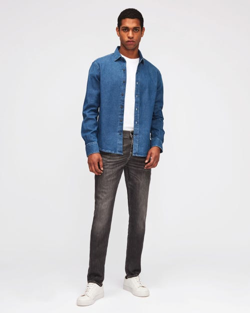 7 For All Mankind - Ronnie Luxe Performance Grey
