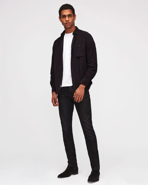 7 For All Mankind - Ronnie Luxe Performance Washed Black
