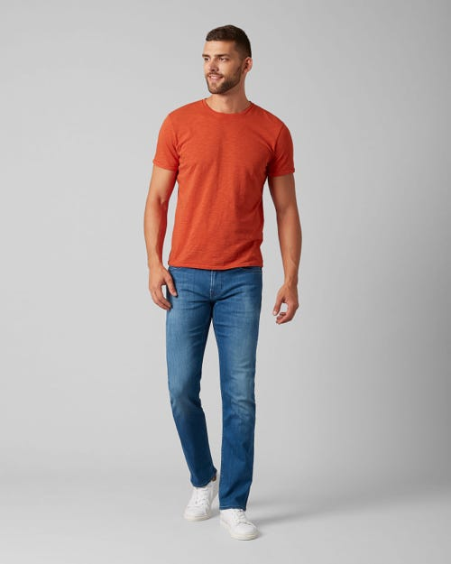 7 For All Mankind - Kayden Luxe Performance Mid Blue