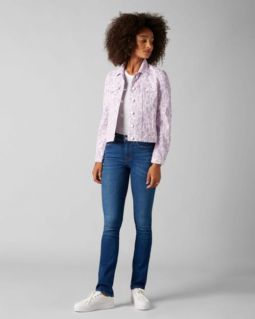 7 For All Mankind - Kimmie Straight Slim Illusion Mar Vista