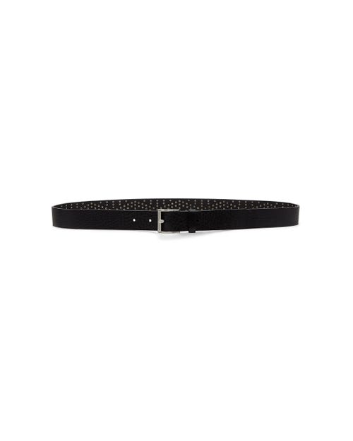 STUDDED BELT BLACK