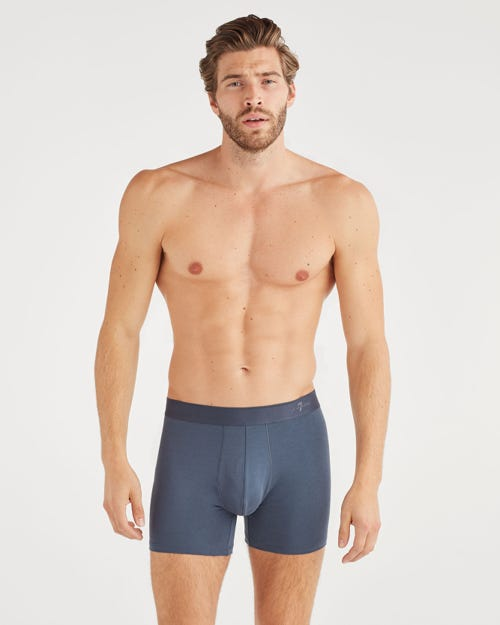 7 For all Mankind - Boxer Brief 2 Pack In Eu Blue