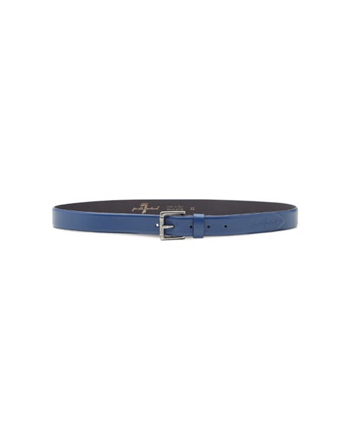 7 For All Mankind - Clean Belt Leather Blue