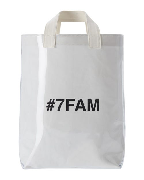 7 For All Mankind - Logo Bag White