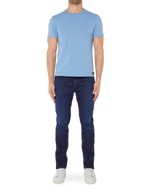 7 For All Mankind - Ryan Pant Denim Fleece Dark Blue