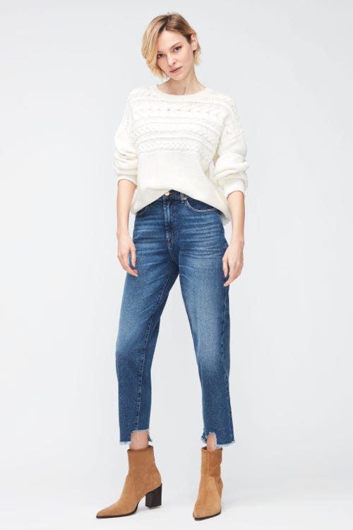 MALIA LUXE VINTAGE REJOICE WITH DESTROYED HEM