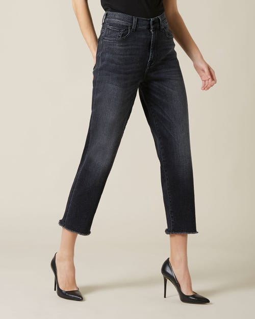 MALIA LUXE VINTAGE DIRECTED WITH BACK HEM DISTRESSED