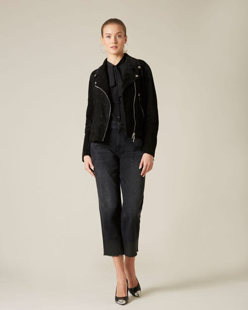 THE MODERN STRAIGHT TILL THE END WITH COATED HEM