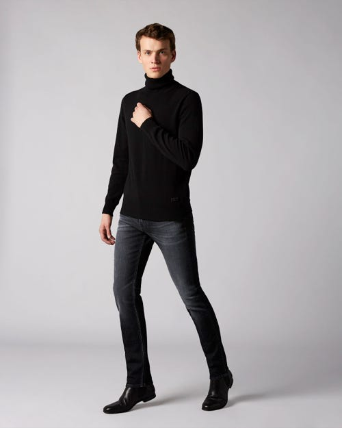 7 For All Mankind - Ronnie Cachan With Coated Top Block