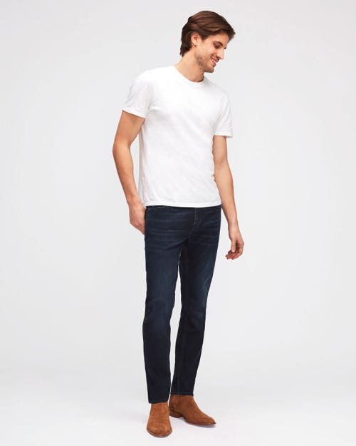 RONNIE LUXE PERFORMANCE WASHED BLUE BLACK