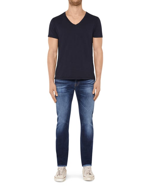 7 For All Mankind - Ronnie Poolville Blue