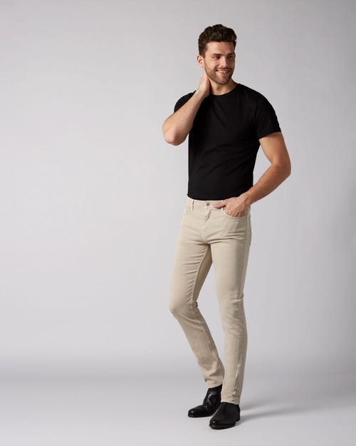 7 For All Mankind - Ronnie Left Hand Colors Dove Beige