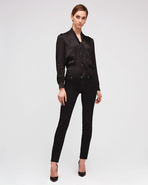 7 For All Mankind - Pyper B(Air) Rinsed Black