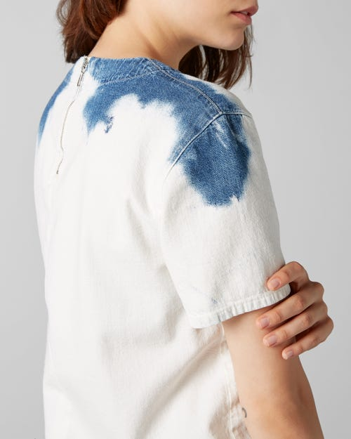 7 For All Mankind - S/S Top Bleached Surfside