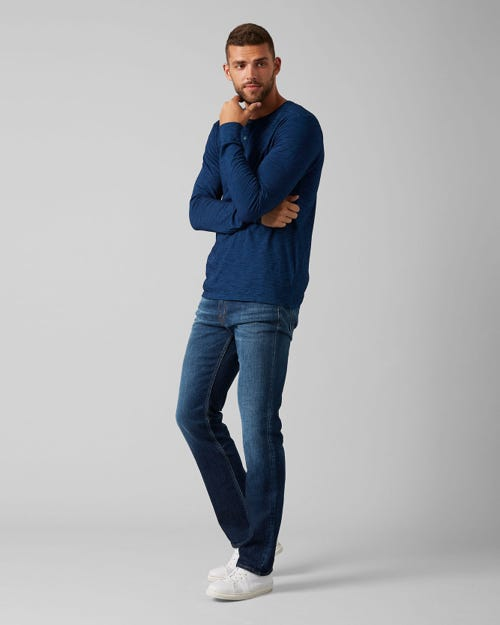 7 For All Mankind - Slimmy Broadway Dark Blue