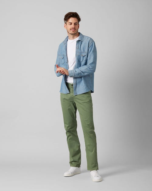 7 For All Mankind - Slimmy Light Weight Pistachio