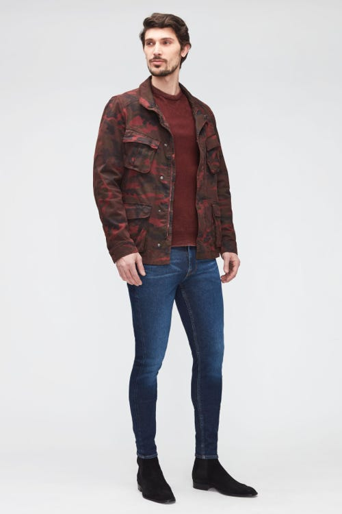 RONNIE TAPERED STRETCH TEK ECO RISE UP