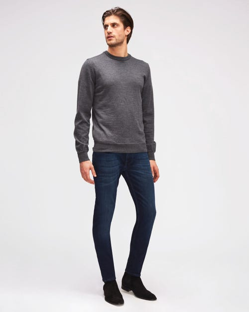 7 For All Mankind - Slimmy Tapered Luxe Performance Plus Deep Blue