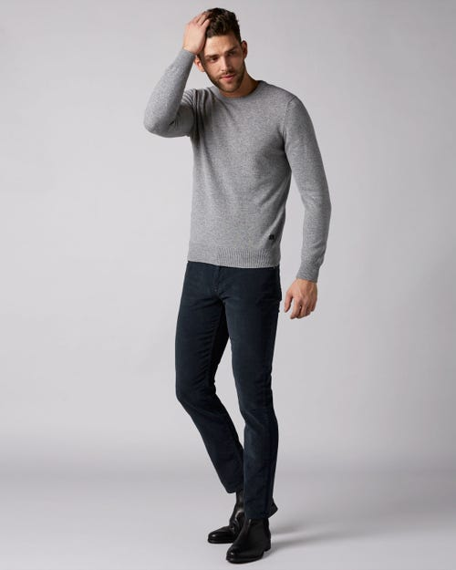 7 For All Mankind - Slimmy Tapered Corduroy Color Navy