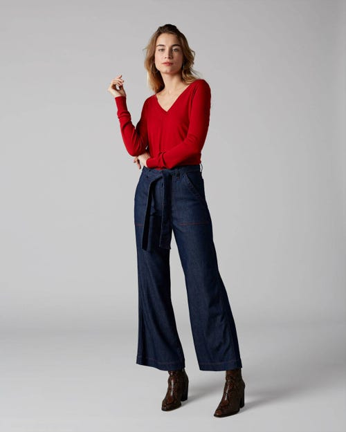 7 For All Mankind - Lotta Cropped Patriot