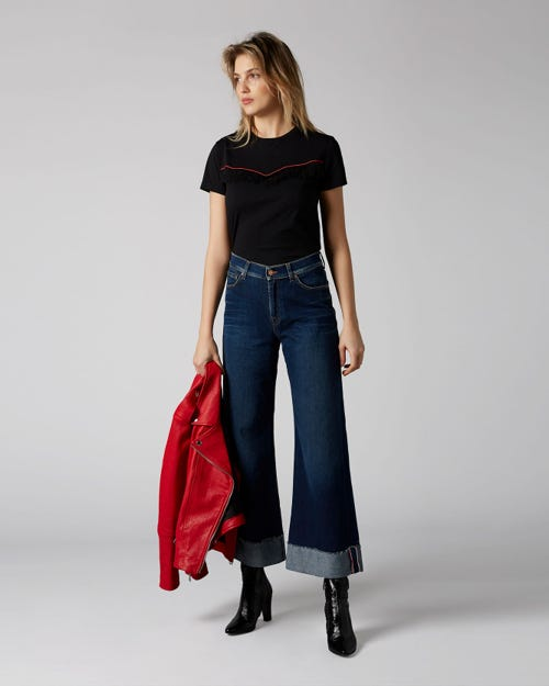 7 For All Mankind - Lotta Cropped Canyon