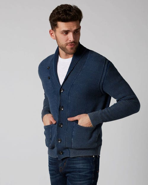 7 For All Mankind - Cardigan Cotton Indigo