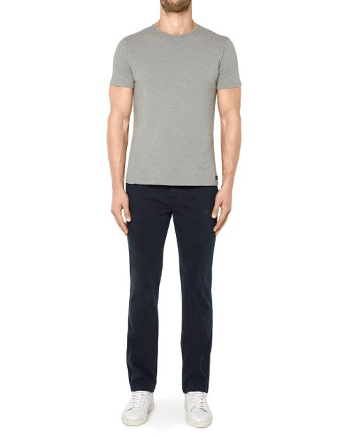 SLIMMY CHINO LUXE PERFORMANCE SATEEN INK BLUE