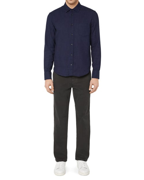 SLIMMY CHINO LUXE PERFORMANCE SATEEN WASHED BLACK
