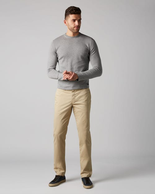 7 For All Mankind - Extra Slim Chino Light Weight Light Beige