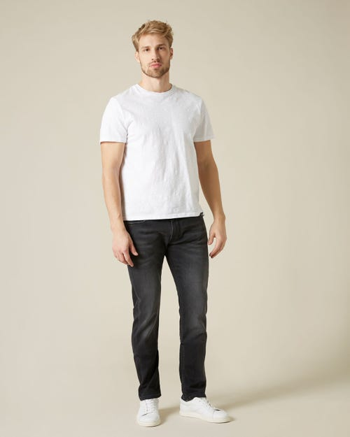 RONNIE J LUXE JOGGER SHAKING WASHED BLACK