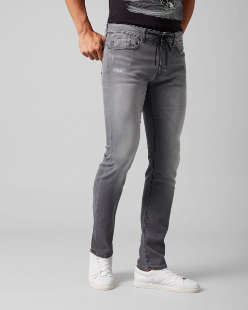 7 For All Mankind - Ronnie J Luxe Jogger Sorake Grey