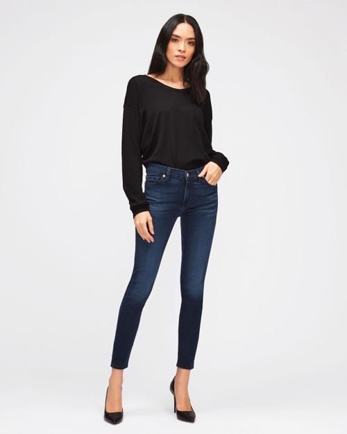 7 For All Mankind - The Skinny Crop Bair Park Avenue
