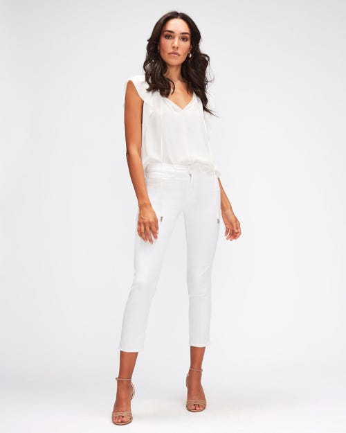 ROXANNE ANKLE LEFT HAND PURE WHITE