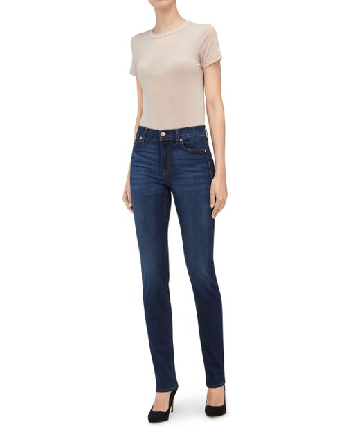7 For All Mankind - Rozie Slim Illusion Luxe Starlight