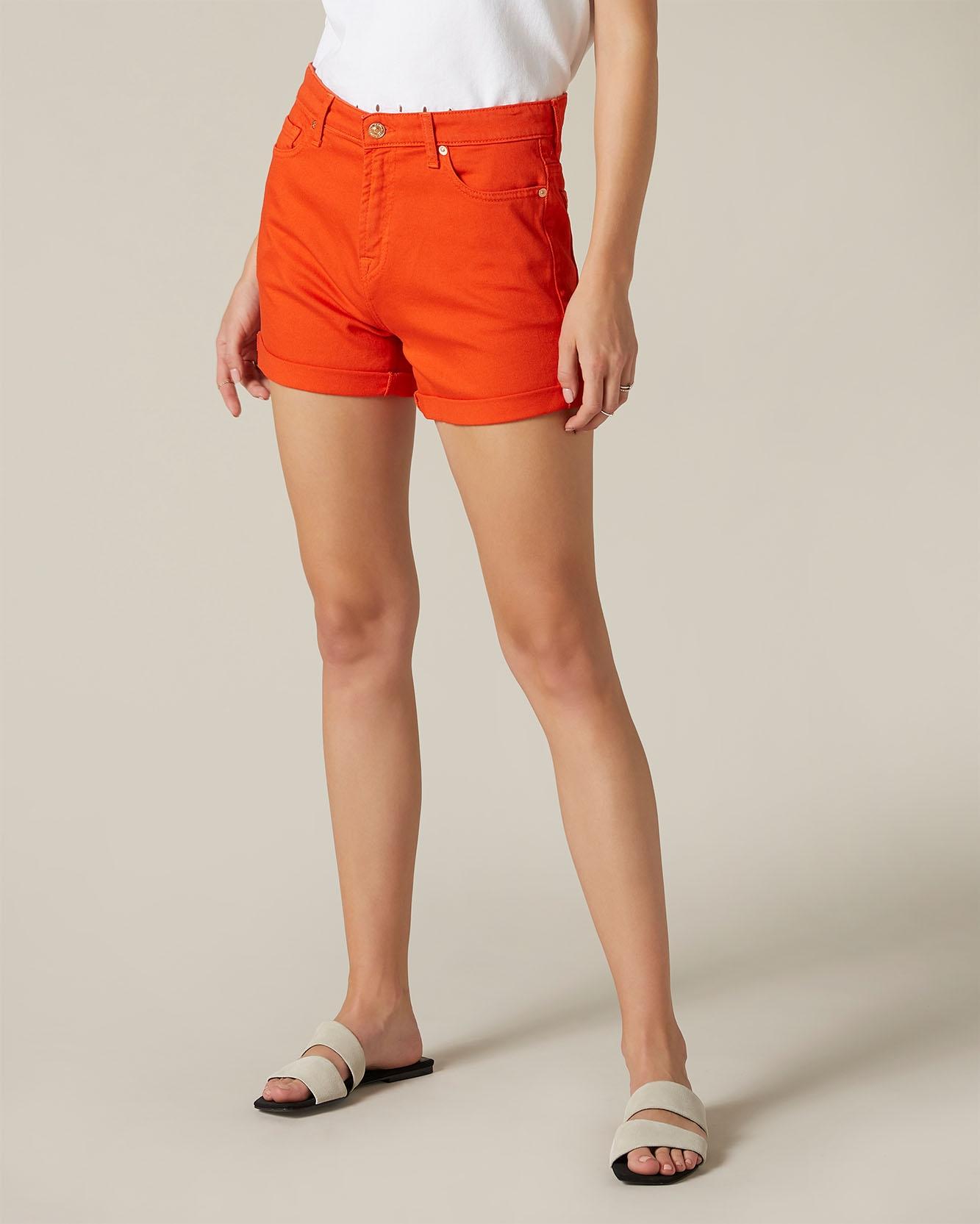 Trufit Pantaloncini da Donna in Maglia di Cotone