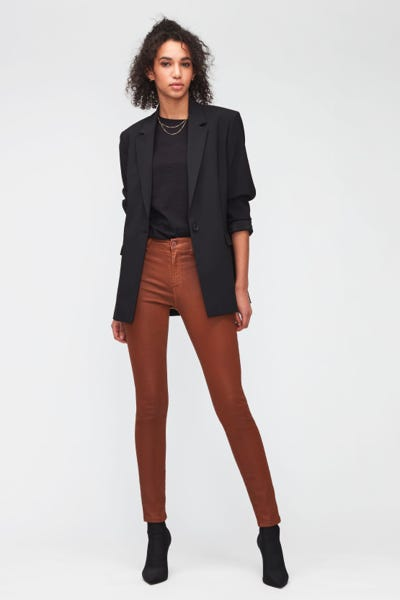 HW SKINNY COATED SLIM ILLUSION  CINNAMON