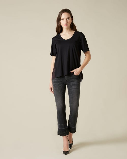 CROPPED BOOT UNROLLED SLIM ILLUSION EPIC