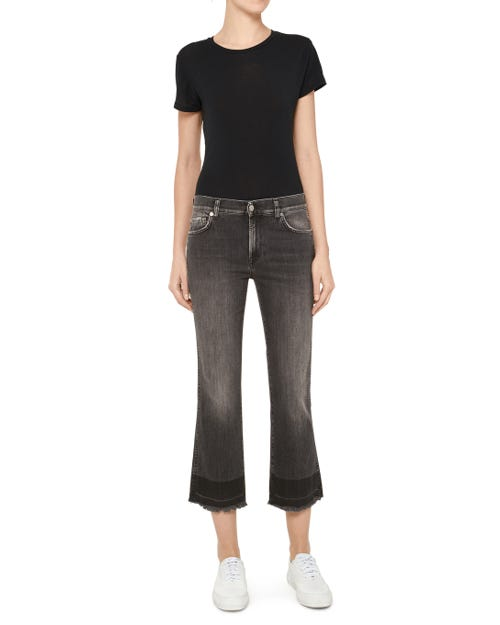 CROPPED BOOT UNROLLED SLIM ILLUSION VIBE