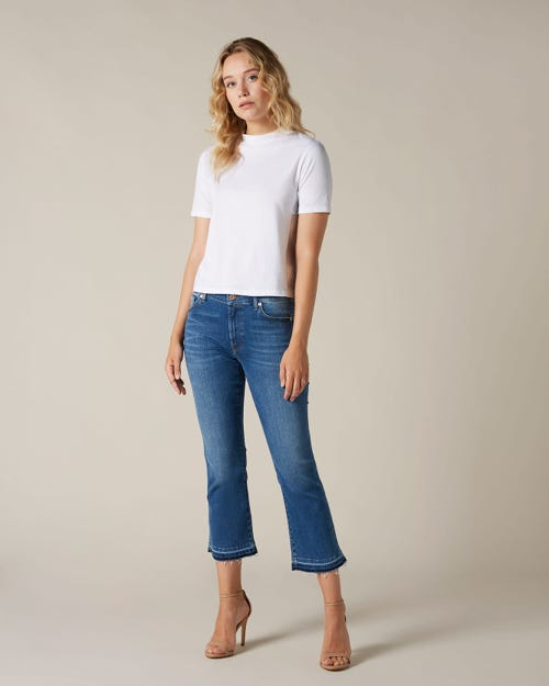 CROPPED BOOT UNROLLED SLIM ILLUSION POSESSED