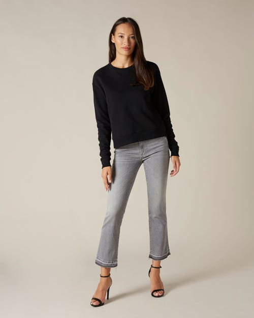 CROPPED BOOT UNROLLED SLIM ILLUSION NEW DAWN
